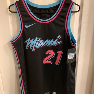 separation shoes 2e484 3630f Nike Other | Udonis Haslem Miami Heat Sunset Vice Jersey ...